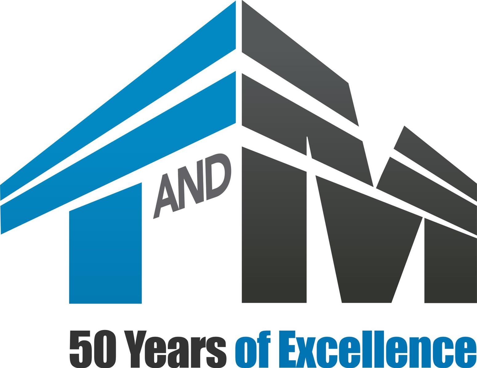 TandM -50 Years of Excellence Logo